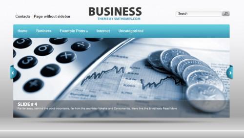 Business - WordPress Theme