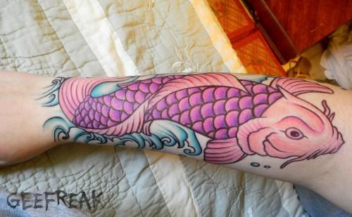 Elegant Koi Fish Tattoo Designs