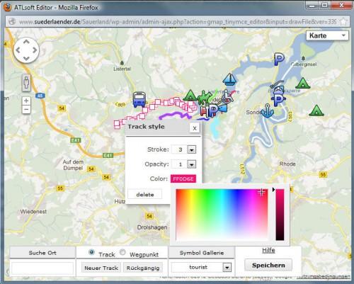 Google Maps GPX Viewer