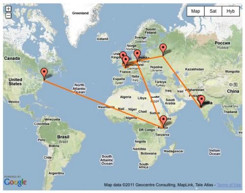 Google Maps Route Plugin