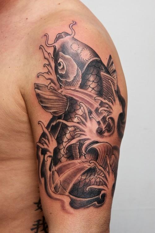 17. Koi Fish Tattoo