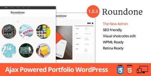 Roundone - Ultimate Portfolio WP Theme