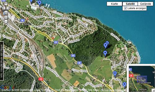XML Google Maps