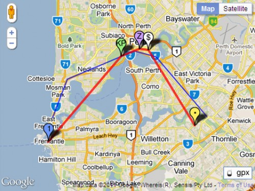 thydzik Google Map