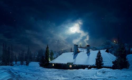 Cool Winter Night Photo