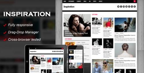 Inspiration Responsive WordPress Theme