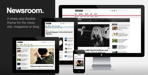Newsroom - Responsive Magazine Theme