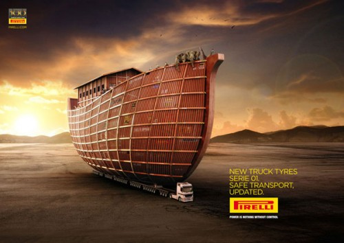 Pirelli Truck Tyres: Noah's Ark