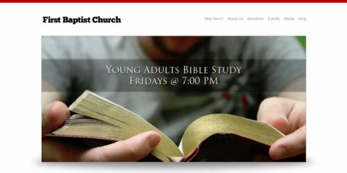 Simple Church WordPress Theme