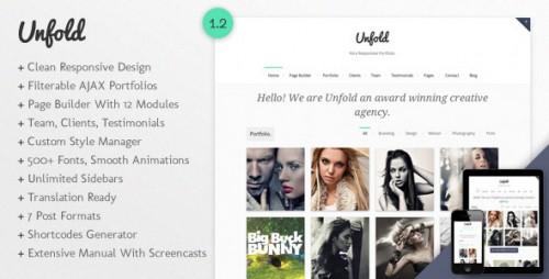 Unfold - Responsive WordPress Theme