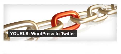 YOURLS: WordPress to Twitter