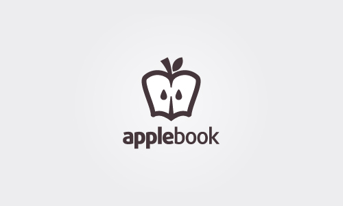 Apple Book - apple logos ideas