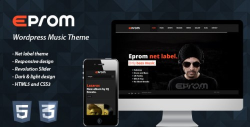 EPROM - WordPress Music Theme