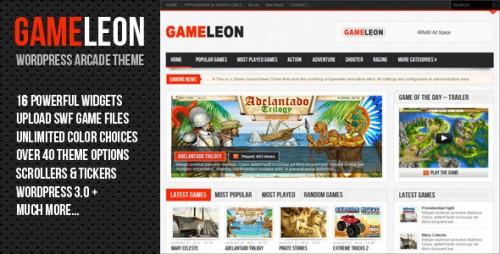Gameleon - WordPress Arcade Theme
