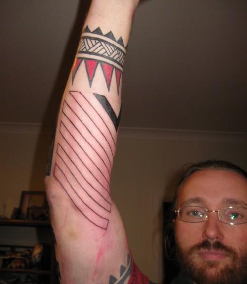 Underside of the Arm