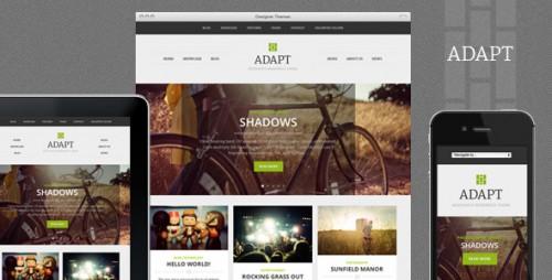 Adapt, a Responsive WordPress Theme