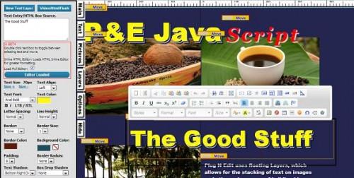 Drag And Drop HTML Visual Editor