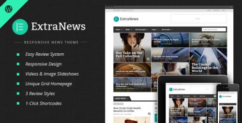 ExtraNews - News and Magazine Theme