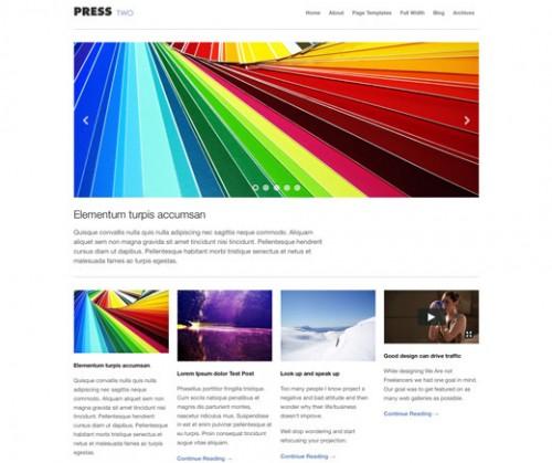Press Two - WordPress Magazine Theme