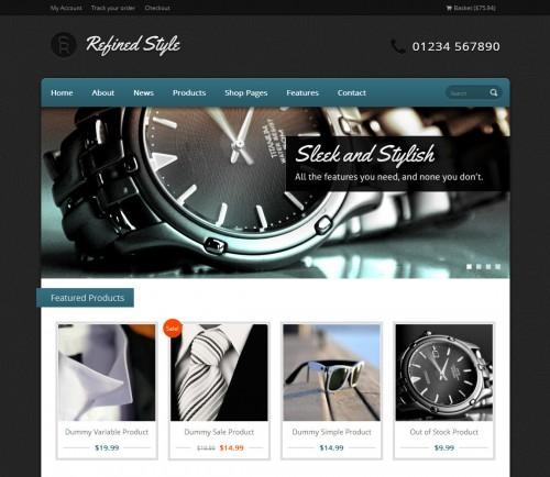 Refined Style - Jigoshop eCommerce Theme