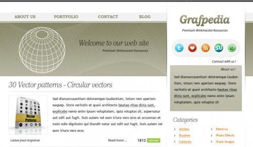 Design a WordPress Theme in Photoshop
