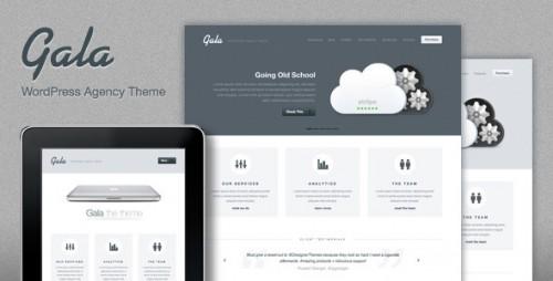 Gala, a Tasty Mac-inspired Agency WP Theme