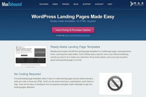Effective Landing Pages for WordPress