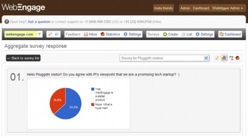 WebEngage Feedback, Survey and Notification