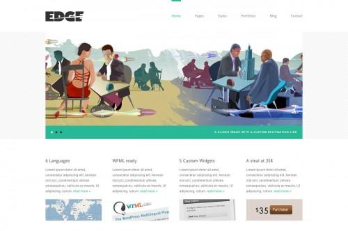 Edge - Professional Corporate and Portfolio Theme