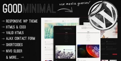 Good Minimal - Responsive WordPress Theme