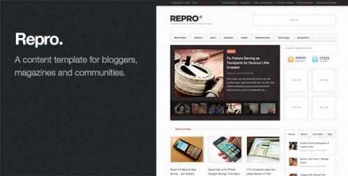 Repro - WordPress News, Magazine Theme