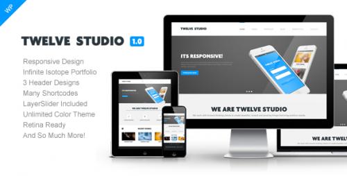 Twelve Studio - WordPress Responsive Theme