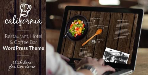 California - Restaurant Hotel Bar WP Theme