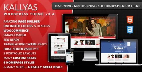 KALLYAS - Responsive Multi-Purpose WP Theme