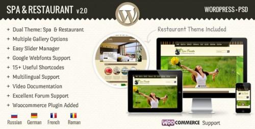 SPA Treats - Spa & Restaurant WooCommerce Theme