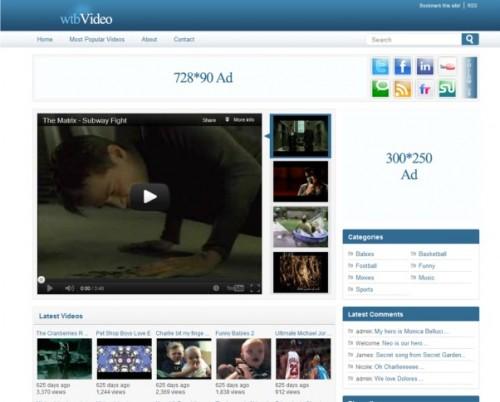 WTB Video Theme