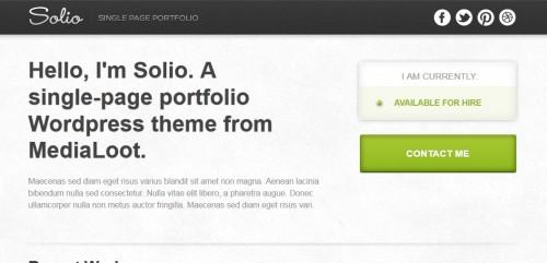 Solio - WordPress Theme