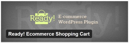 Ready! Ecommerce Shopping Cart