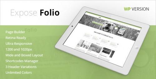 Expose Folio - Multipurpose WordPress Theme
