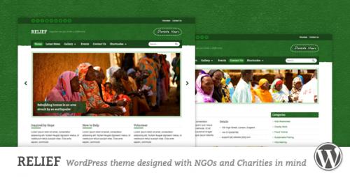 Relief - Charity Responsive WordPress Theme