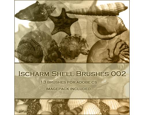 13 Free Ischarm Shell Brushes