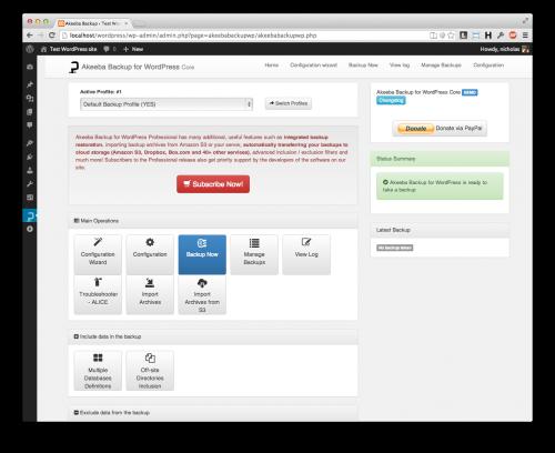 Akeeba Backup CORE for WordPress