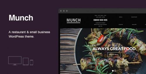 Munch - Restaurant & Business WordPress Theme