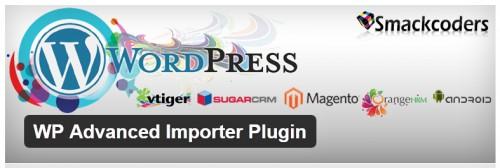 WP Advanced Importer Plugin