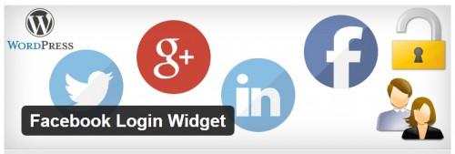 Facebook Login Widget
