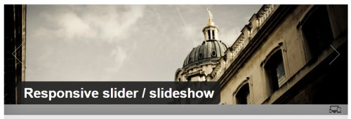 Responsive Slider - Slideshow