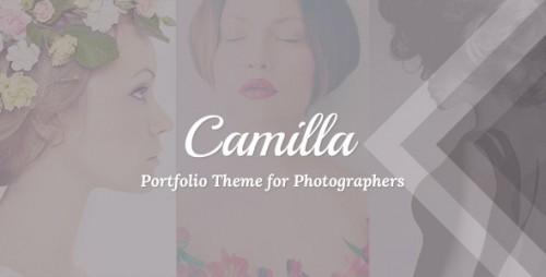 Camilla - Horizontal Fullscreen Photography Theme