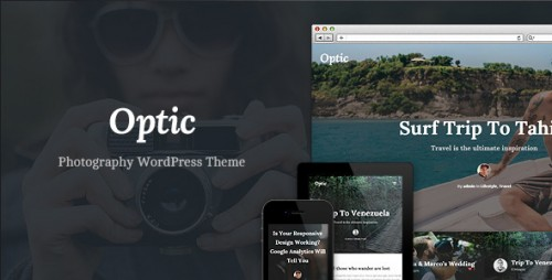 Optic - WordPress Theme for Photographers