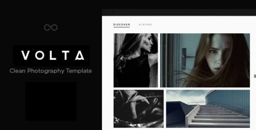 Volta - Creative Photo WordPress Theme
