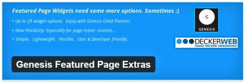 Genesis Featured Page Extras